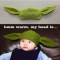 Yoda baby knit tuque