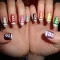 Converse Nail Art - All Types of Style