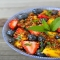 Quinoa Fruit Salad with Honey Lime Dressing - Healthy Food Ideas