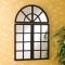 Windowpane Mirror - Home decoration