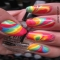 Tie Dye Nails - Beauty