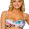 Twist Bandeau Bikini Top - Swimsuits