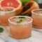 Vanilla Grapefruit Margaritas with a Vanilla Salt Rim - Party ideas