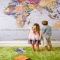 Wall Map Ideas - Kid's Room