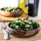 Warm Kale Salad with Goat Cheese, Pine Nuts and Sweet Onion Balsamic Dressing - Healthy Eating