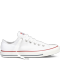 White Chuck Taylor low canvas style