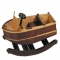 Wooden Rocking Boat Toy - For the kids